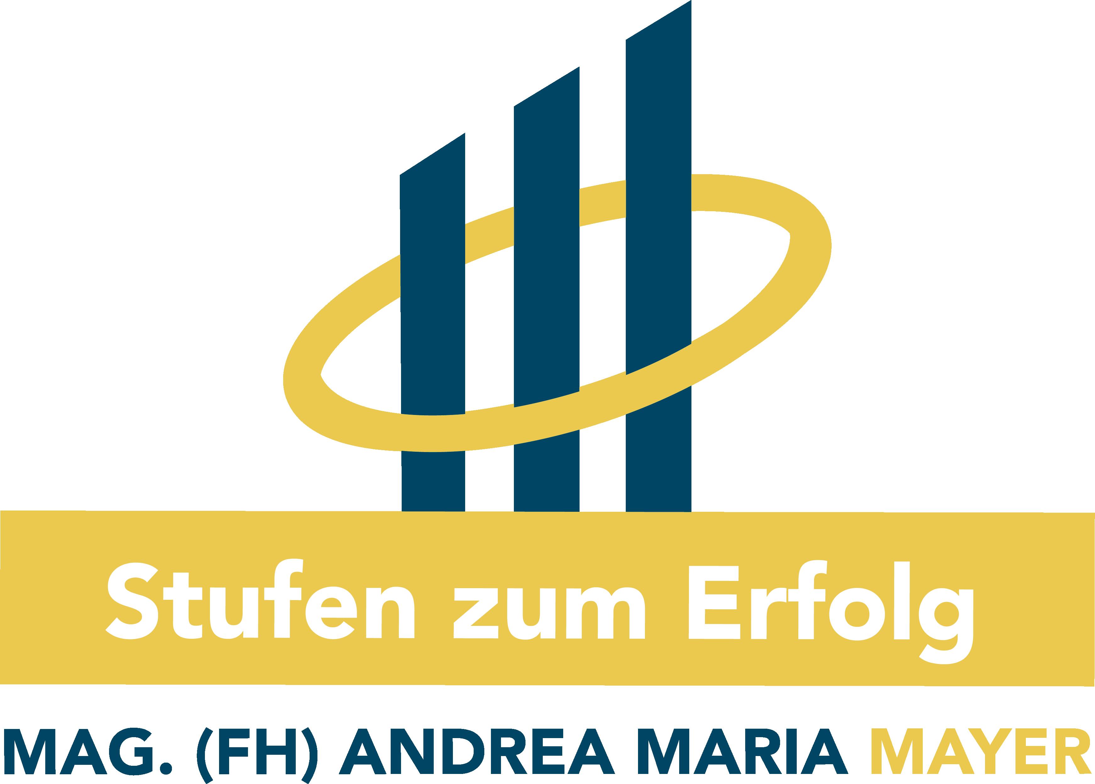 Logo - Stufen zum Erfolg - Andrea Maria Mayer